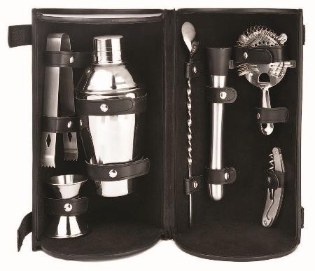 Set of bartender tools