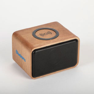 real wood bluetooth speaker