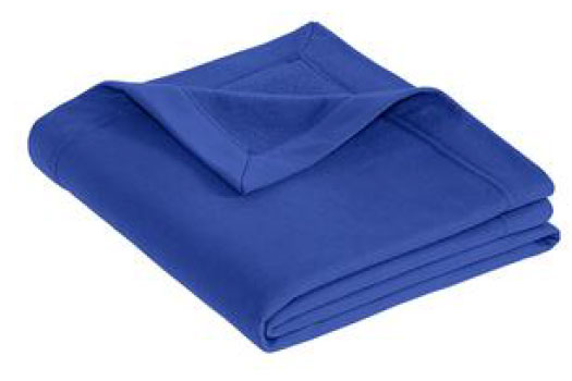 blue stadium blanket