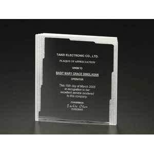 Frost Multi-Layer Rectangle Award